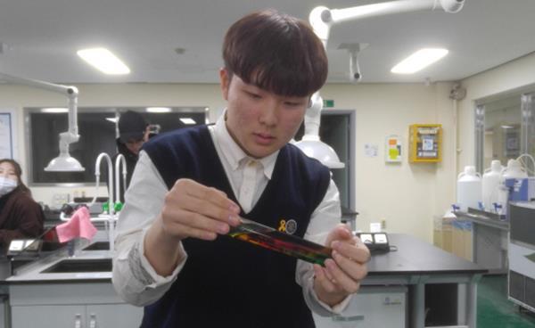 경기꿈의대학 수업 현장을 가다-'실험을 통한 생활 속 화학 원리 탐색'