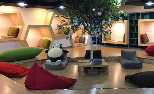 안산지역 청소년들을 위한 놀이 공간