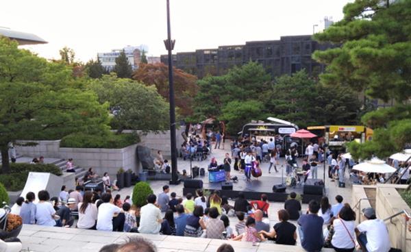 예술의전당 야외 축제