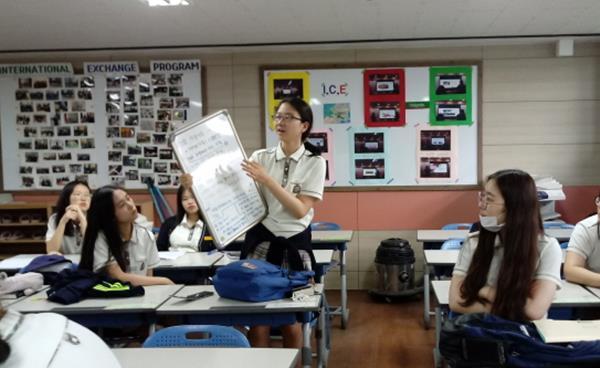 우리지역 고등학교 탐방- 상일여자고등학교 '창의공학·융합중점 프로그램'