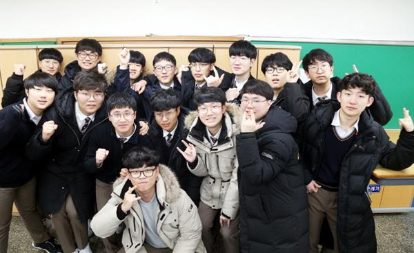 자기주도학습의 끝판왕, 선덕고 3학년 김지명 학생