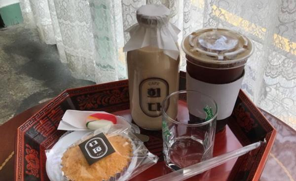 복고풍 우유 카페 '희다'
