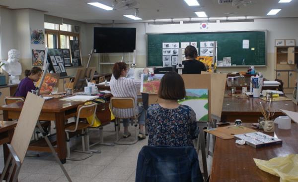 성포고 '미술 교육공동체' 이야기