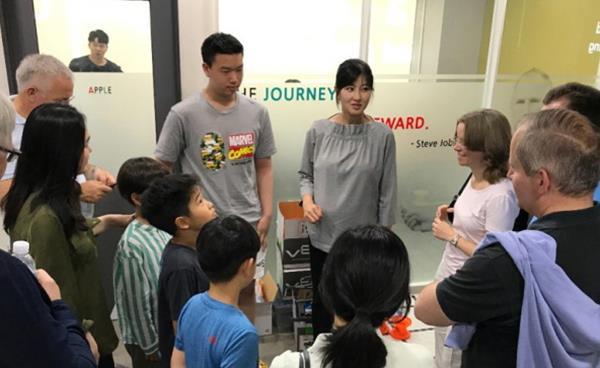 글로벌 이동통신사 도이치텔레콤, '비욘드 코딩' 방문