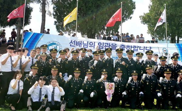 영진전문대학교, 육군부사관 19-3기 31명 신임하사 배출