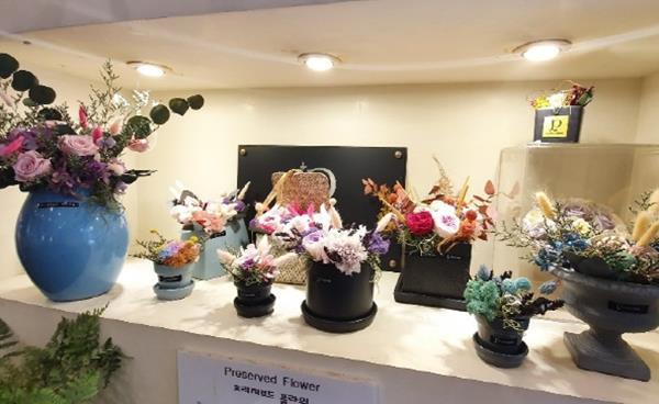 정자동 카페거리 플라워 숍, '플라워 파베(Flower PAVE)'
