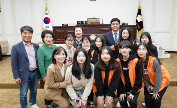 대구 수성구의회, 학생들 아이디어 적극지원 약속