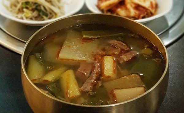 든든한 한 끼, 한우 가마솥국밥 '강남정'