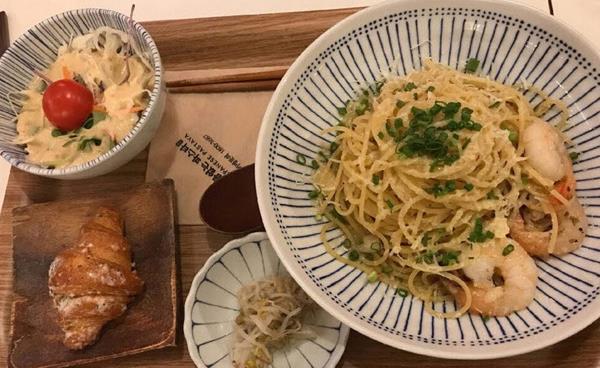 일본식 파스타 전문점 '이름없는 파스타'