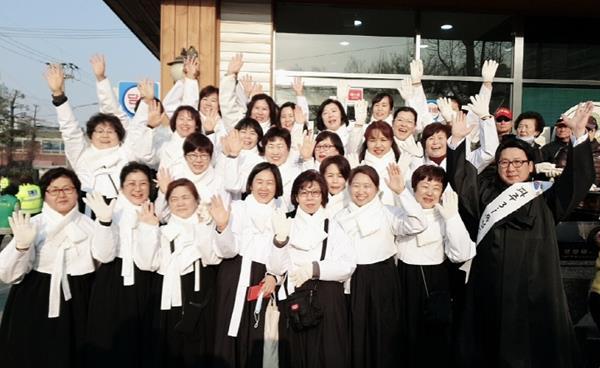 파주시평생학습센터 생활한복동아리 '혜윰'