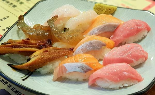 강남역 인근 가성비 좋은 초밥 '은행골'