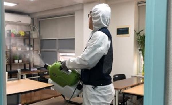 코로나19 대응, 대치동 학원가 방역 현장