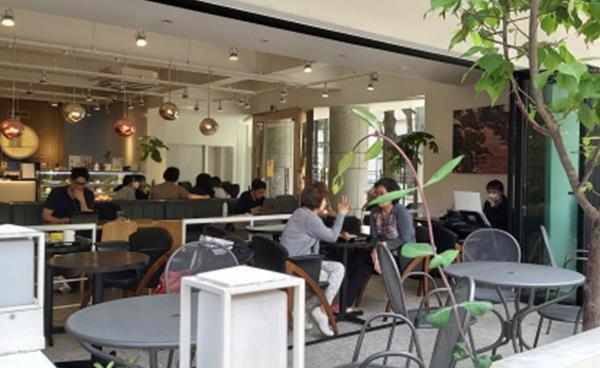 환상적인 커피와 디저트 '커피나무' 서래마을점