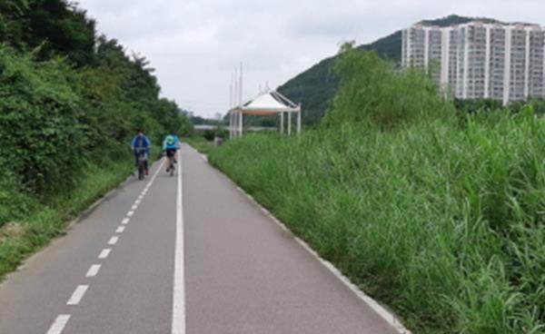 우리지역 자전거타기 좋은 길