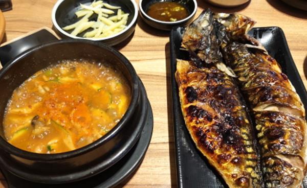 고등어& 삼치구이가 일품인 '어랑생선밥상'