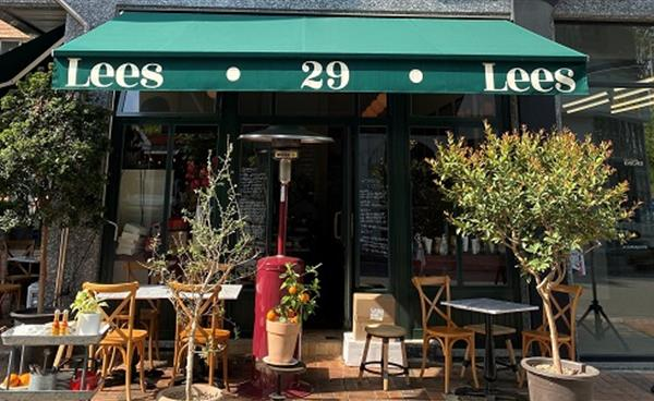 백현동 카페거리 미국 음식점, '리스카페(Lees cafe)'