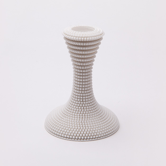 Flow cube skin candle stand (small)