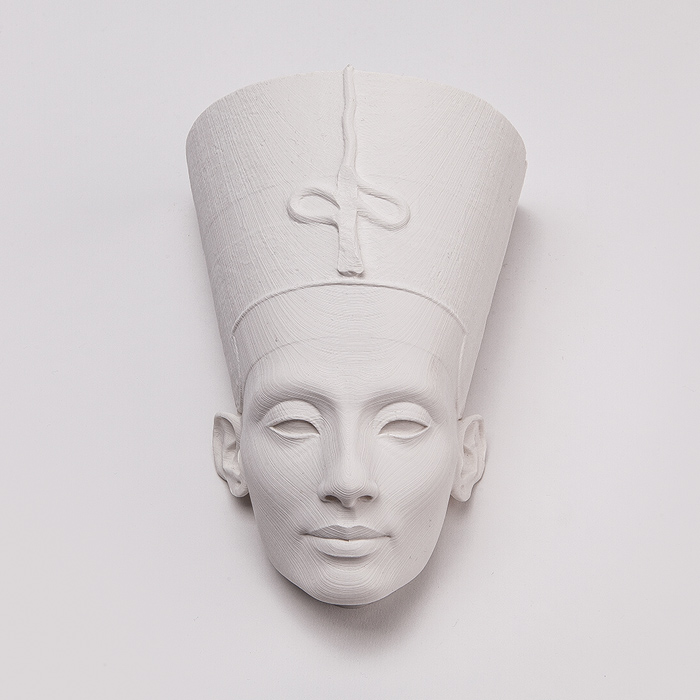 Nefertiti Mask wall deco