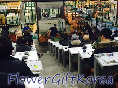 buying flowers for flower gift Korea