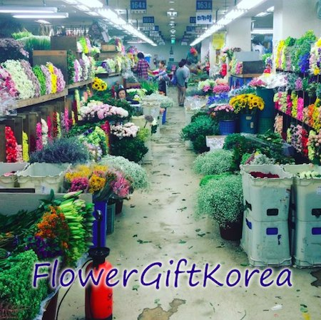 Flower Gift Korea flowers in Seoul South Korea