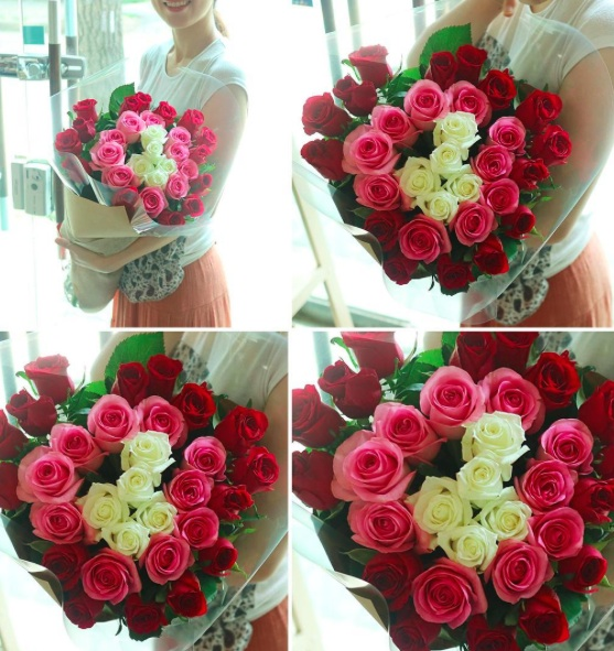Beautiful rose delivery South Korea