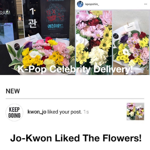Flower Delivery Kpop