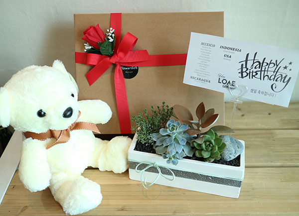 JR NUEST Birthday Flower Gift Korea Delivery