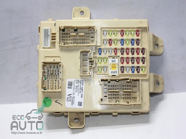 에코오토 자동차 중고부품 95400-3V030 퓨즈박스,실내
