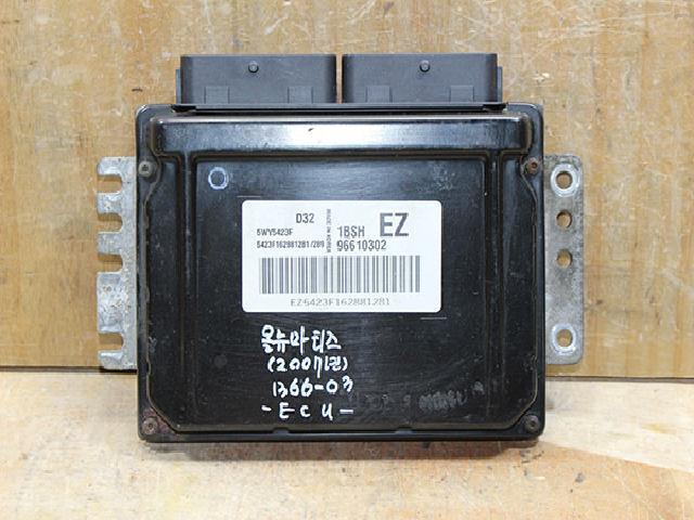 에코오토 자동차 중고부품 96610302 ECU,컴퓨터