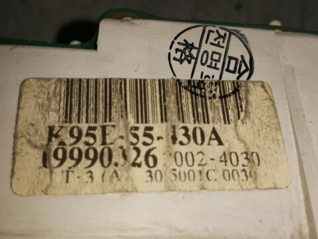 지파츠 자동차 중고부품 0K95E55430A 계기판
