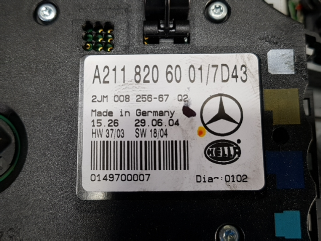 지파츠 자동차 중고부품 2118206001 실내조명등