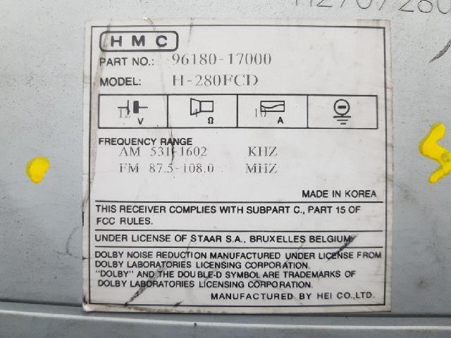 지파츠 자동차 중고부품 9618017000 AV시스템,오디오