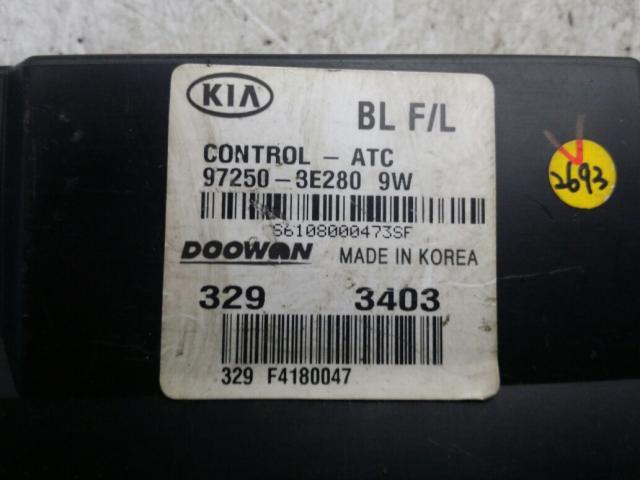 지파츠 자동차 중고부품 972503E2809W 히터에어컨컨트롤스위치