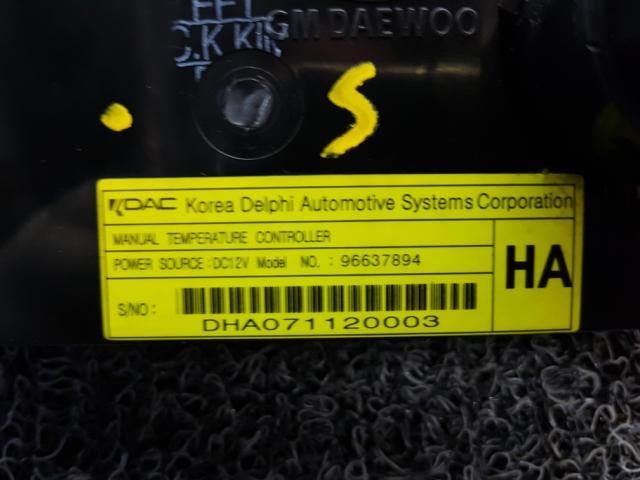 지파츠 자동차 중고부품 96637894 히터에어컨컨트롤스위치