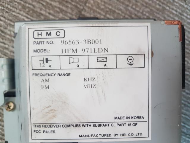 지파츠 자동차 중고부품 965633B001 AV시스템,오디오