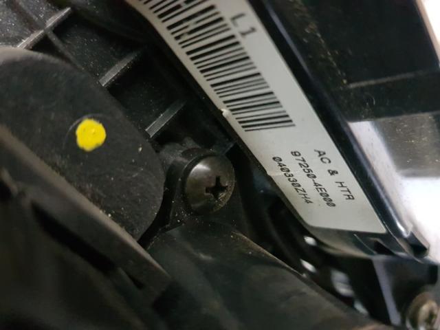 지파츠 자동차 중고부품 972504E000 히터에어컨컨트롤스위치