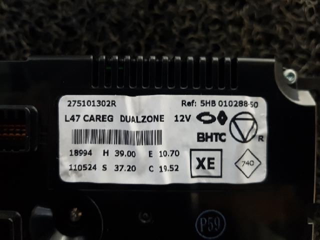 지파츠 자동차 중고부품 275101302R 히터에어컨컨트롤스위치