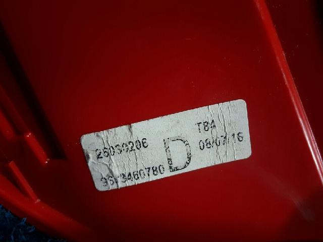지파츠 자동차 중고부품 9683460780 컴비네이션램프,후미등,데루등