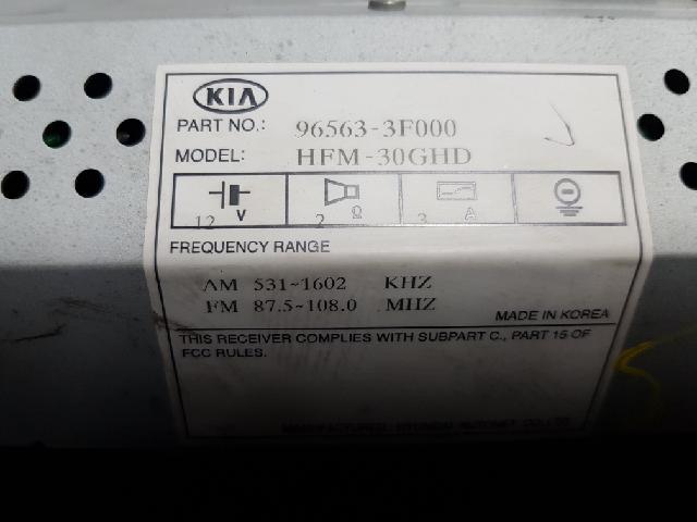 지파츠 자동차 중고부품 965633F000 AV시스템,오디오