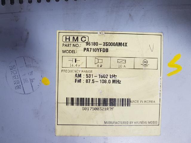지파츠 자동차 중고부품 961803S0004X AV시스템,오디오