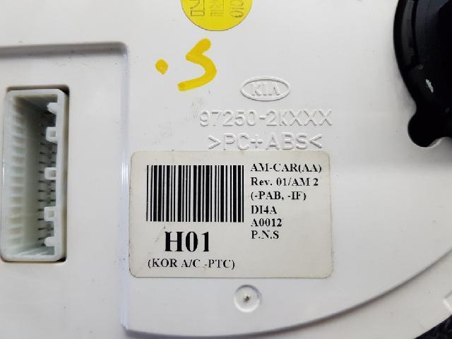 지파츠 자동차 중고부품 972502K000 히터에어컨컨트롤스위치
