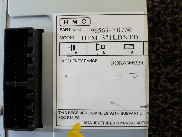 지파츠 자동차 중고부품 965633B700 AV시스템,오디오