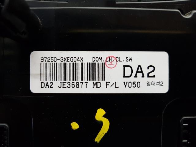 지파츠 자동차 중고부품 972503XEG04X 히터에어컨컨트롤스위치