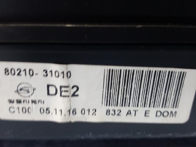 지파츠 자동차 중고부품 8021031010 계기판