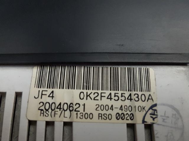 지파츠 자동차 중고부품 0K2F455430A 계기판
