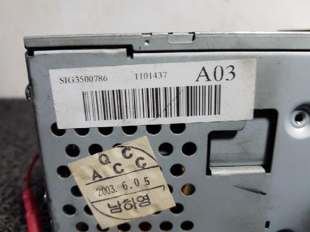 지파츠 자동차 중고부품 965603B002 AV시스템,오디오
