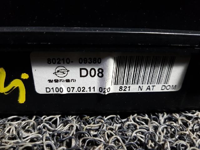 지파츠 자동차 중고부품 8021009380 계기판