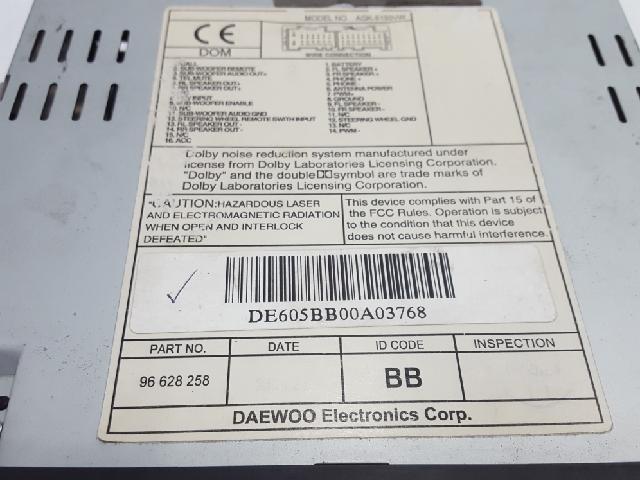 지파츠 자동차 중고부품 96628258 AV시스템,오디오