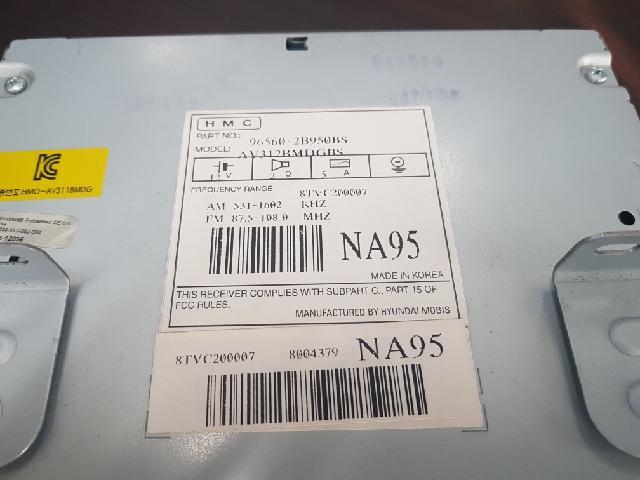 지파츠 자동차 중고부품 965602B950 AV시스템,오디오