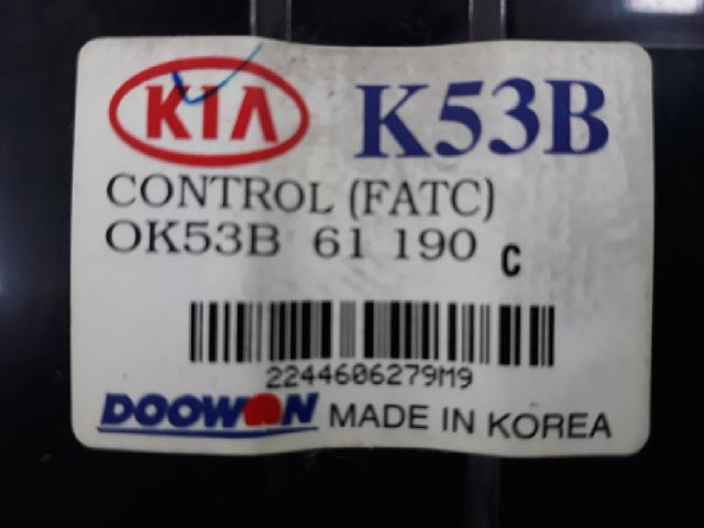 지파츠 자동차 중고부품 0K53B61190C 히터에어컨컨트롤스위치